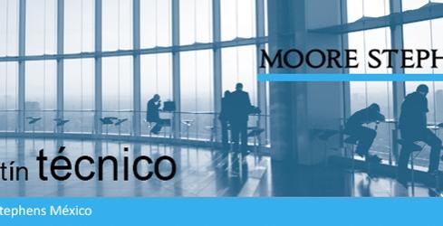 Moore Stephens México | Boletín Noviembre - Diciembre 2015